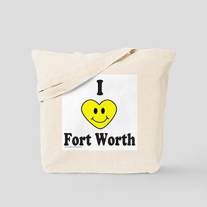 LOVE FORT WORTH Tote Bag