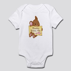 Mouse Love Dad Infant Bodysuit