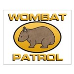 Wombat Patrol Small Poster