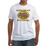 Wombat Patrol Fitted T-Shirt