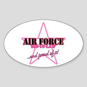 Proud Of It Oval Sticker