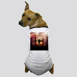 Wonderful dancing couple in the night Dog T-Shirt