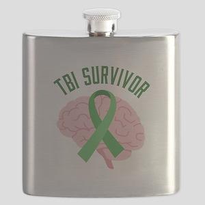 TBI Survivor Flask