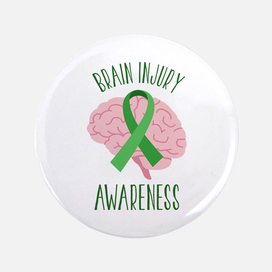 Brain Injury Awareness Button