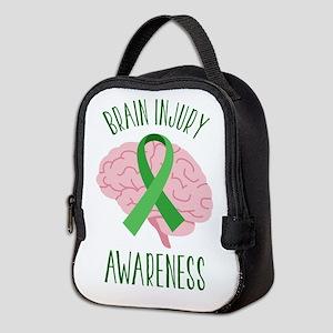 Brain Injury Awareness Neoprene Lunch Bag
