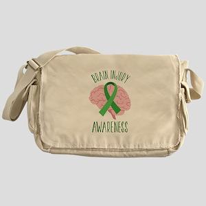Brain Injury Awareness Messenger Bag