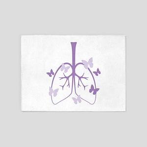 Cystic Fibrosis 5'x7'Area Rug