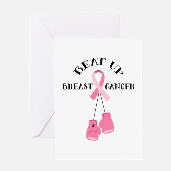 Beat Breast Cancer Greeting Cards