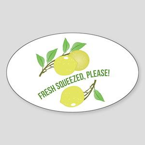 Fresh Squeezed Sticker