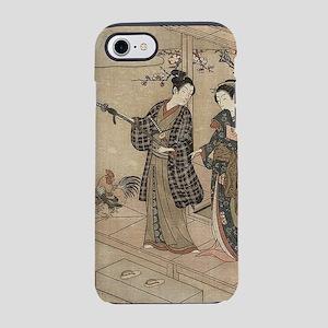 Japanese Vintage Beauty Geis iPhone 8/7 Tough Case