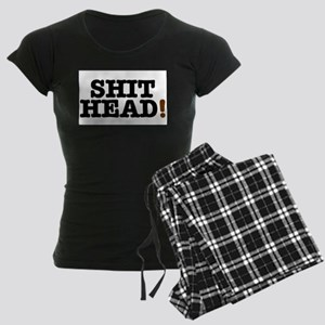 SHIT HEAD! Women's Dark Pajamas