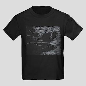 Wolf Pack Wilderness Kids Dark T-Shirt