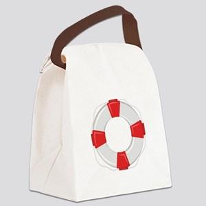 Life Preserver Canvas Lunch Bag