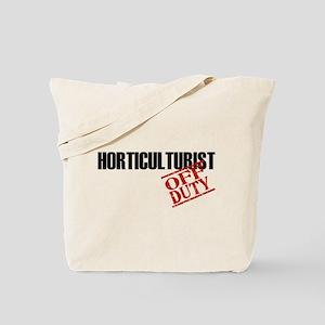 Off Duty Horticulturist Tote Bag