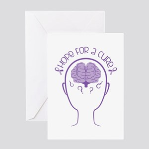 Hope For Cure Greeting Cards