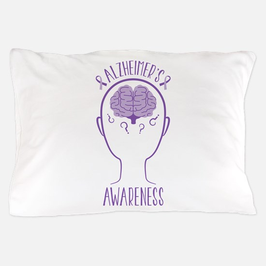 Alzheimers Awareness Pillow Case