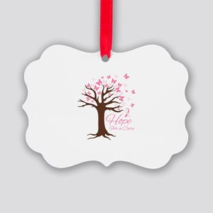 Hope For Cure Ornament