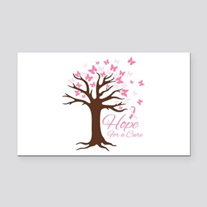 Hope For Cure Rectangle Car Magnet