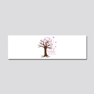 Hope For Cure Car Magnet 10 x 3
