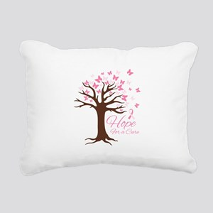 Hope For Cure Rectangular Canvas Pillow
