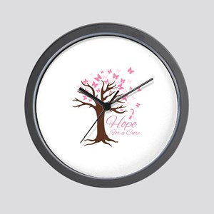 Hope For Cure Wall Clock