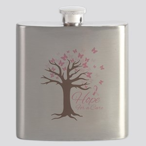 Hope For Cure Flask