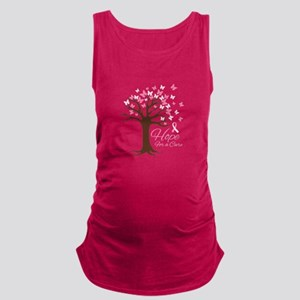 Hope For Cure Maternity Tank Top