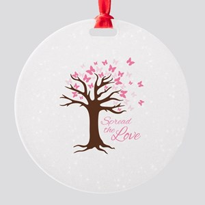 Spread Love Ornament