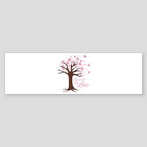 Spread Love Bumper Sticker
