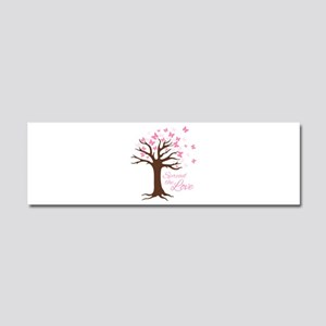Spread Love Car Magnet 10 x 3