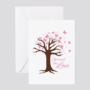 Spread Love Greeting Cards