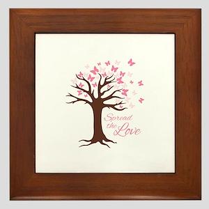 Spread Love Framed Tile