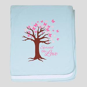 Spread Love baby blanket