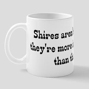 Shires Are My Life Mug
