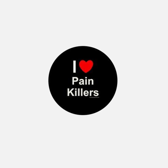 Pain Killers Mini Button