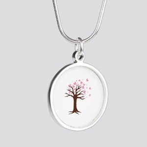 Butterfly Hope Tree Necklaces
