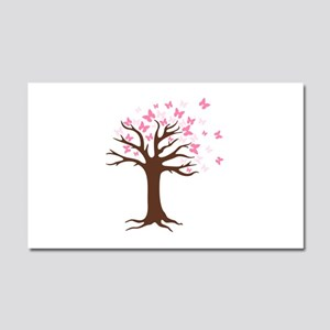 Butterfly Hope Tree Car Magnet 20 x 12