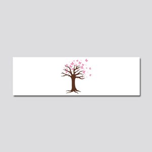 Butterfly Hope Tree Car Magnet 10 x 3