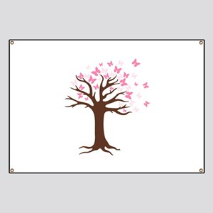 Butterfly Hope Tree Banner
