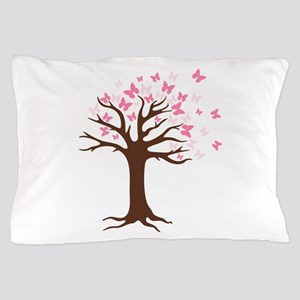 Butterfly Hope Tree Pillow Case
