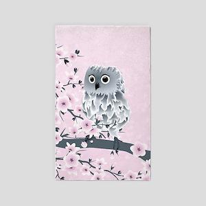 Cute Owl Girls Area Rug