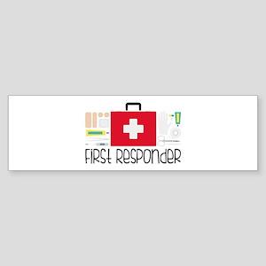 First Responder Bumper Sticker