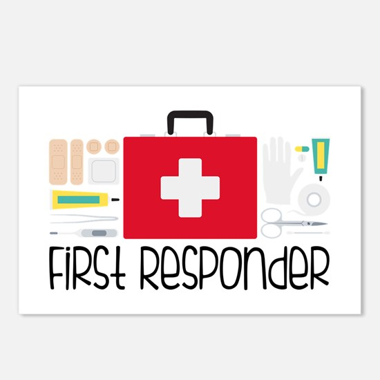 First Responder Postcards (Package of 8)