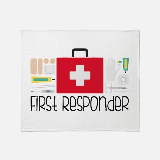 First Responder Throw Blanket