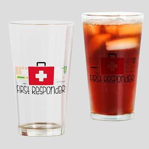 First Responder Drinking Glass