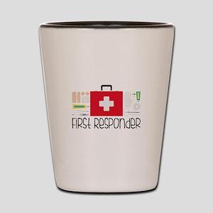 First Responder Shot Glass