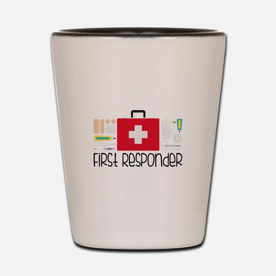 First Responder Shot Glass