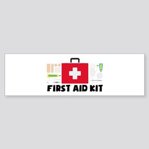 First Aid Kit Bumper Sticker