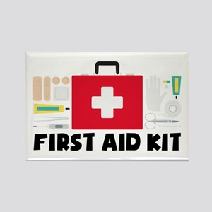 First Aid Kit Magnets