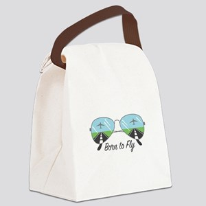 Born To Fly Canvas Lunch Bag